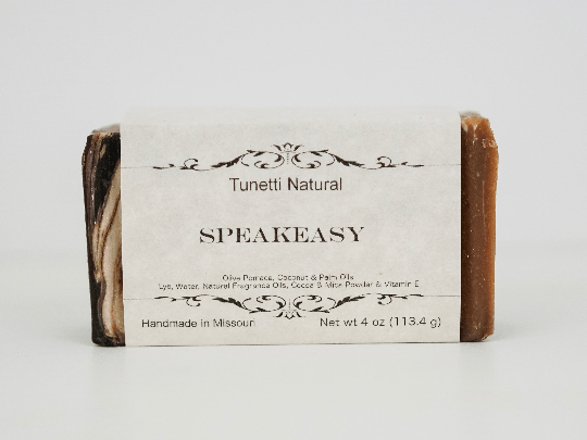 Speakeasy Soap