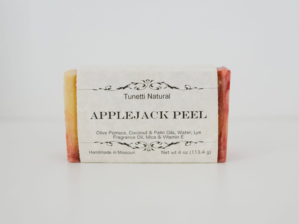 AppleJack Peel Soap