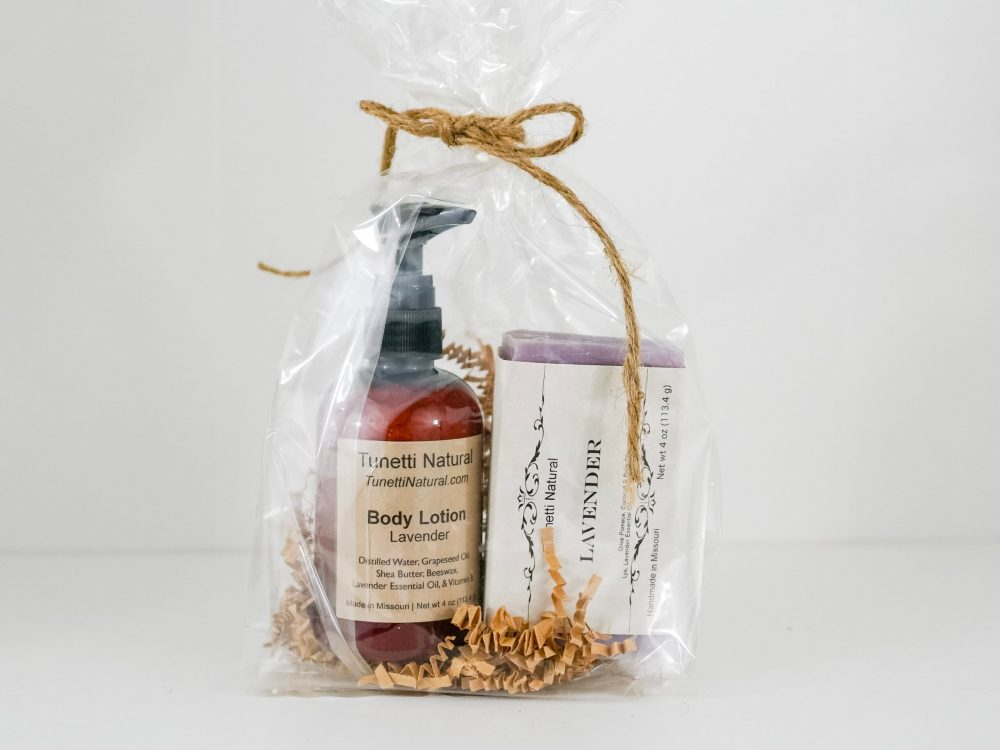 Lotion and Soap Gift Set