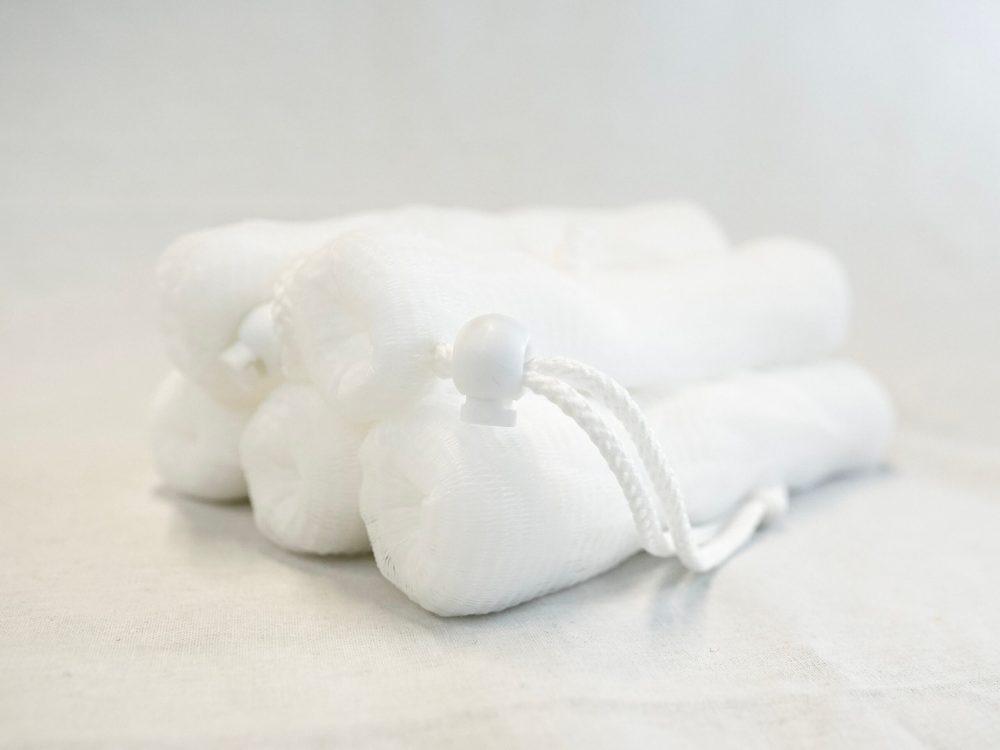 White Soap Saver