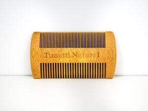 Bamboo Mustache Comb