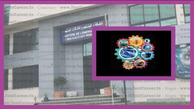 P0193 إعلان انتداب اعوان بالوظيفة العمومية في وزارة الطاقة والمناجم والطاقات المتجددة