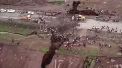Photo of بالفيديو.. زلزال يشقّ إفريقيا الى نصفين