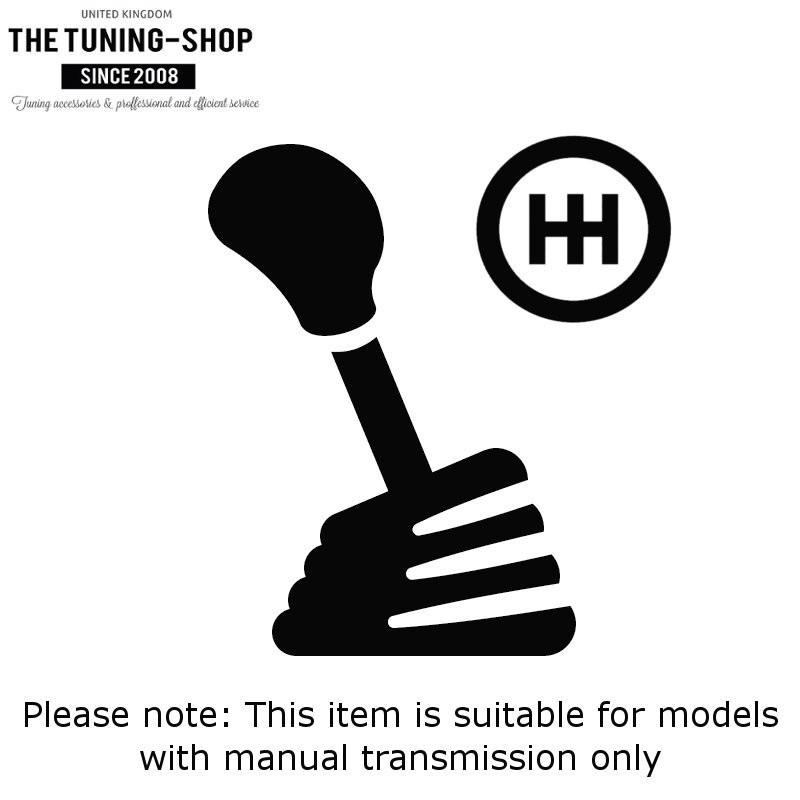 Gear Gaiter For Audi TT MK2 2006-2014 Black Leather