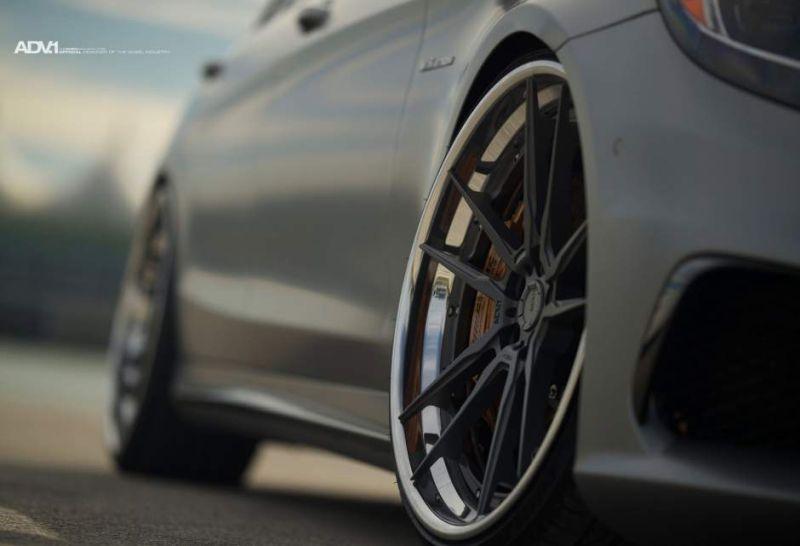 22 Inch Alloy Wheels Adv52 At Mercedes Amg S63 W222