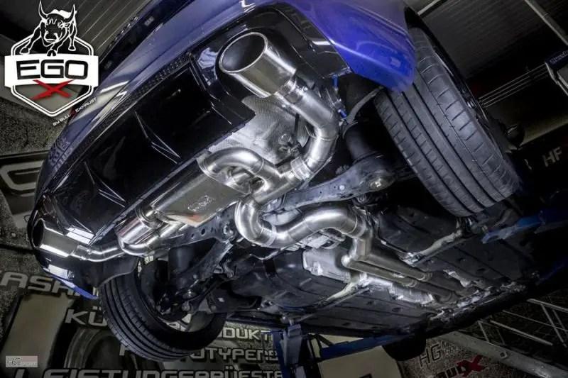 hg motorsport audi rs3 8v with ego x