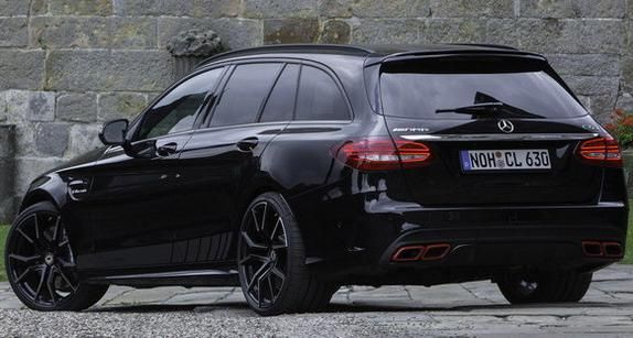 mercedes c63 amg s205 with cl sport
