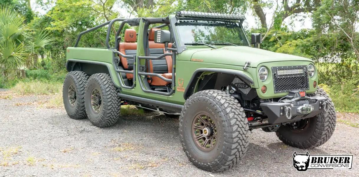 bruiser conversions 6x6 jeep