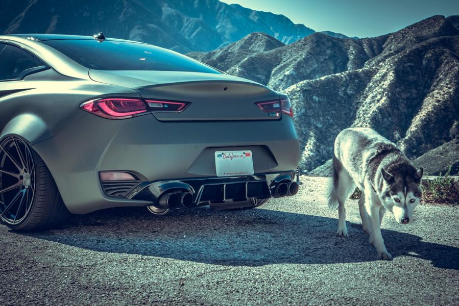 infiniti q60 widebody with rs look