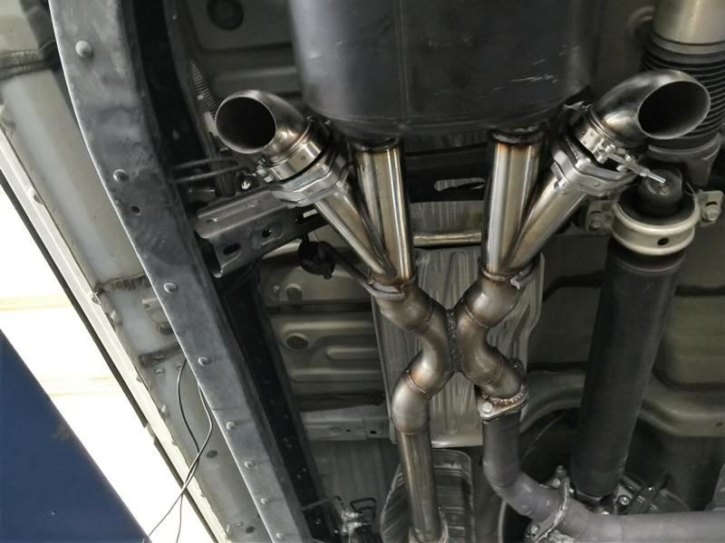 the cutout system for the exhaust