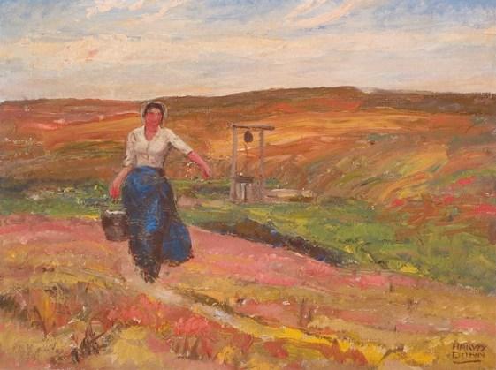 Pioneer Woman by Harvey Dunn