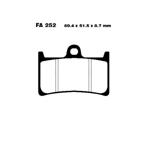 Arlows 252 Bremsbeläge vorne Yamaha BT 1100 FJR 1300 FZ6