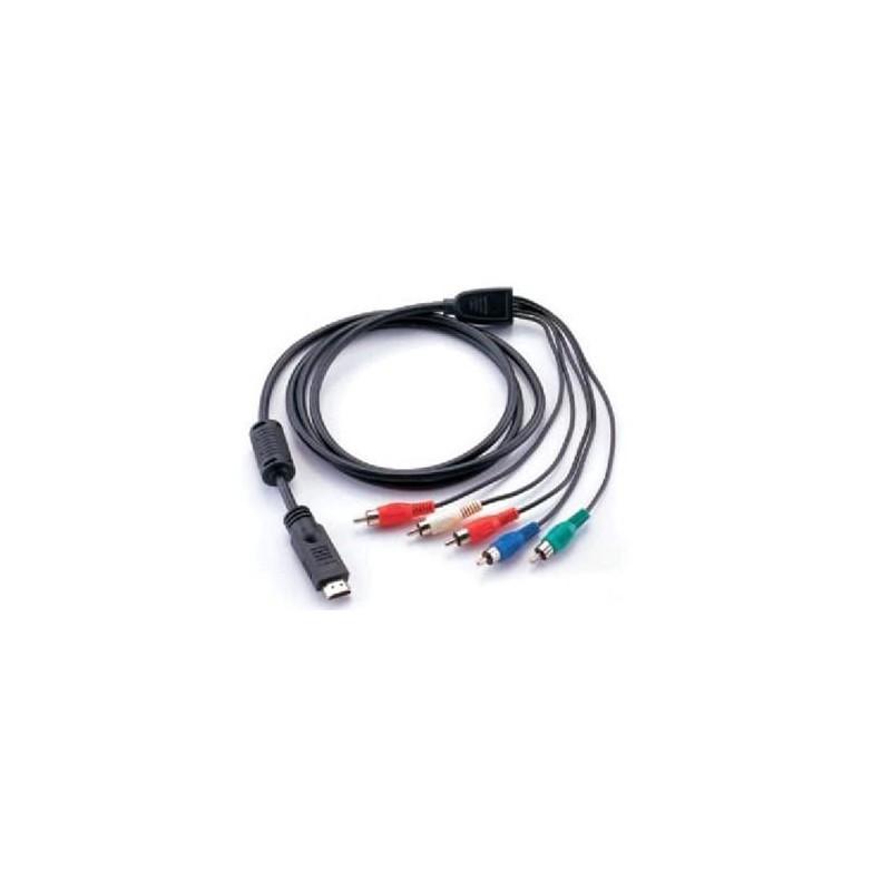 Câble HDMI to 5 RCA 1.5M
