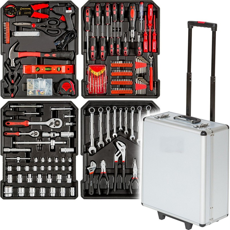 Valise A Outils Toolbox 187 Pieces