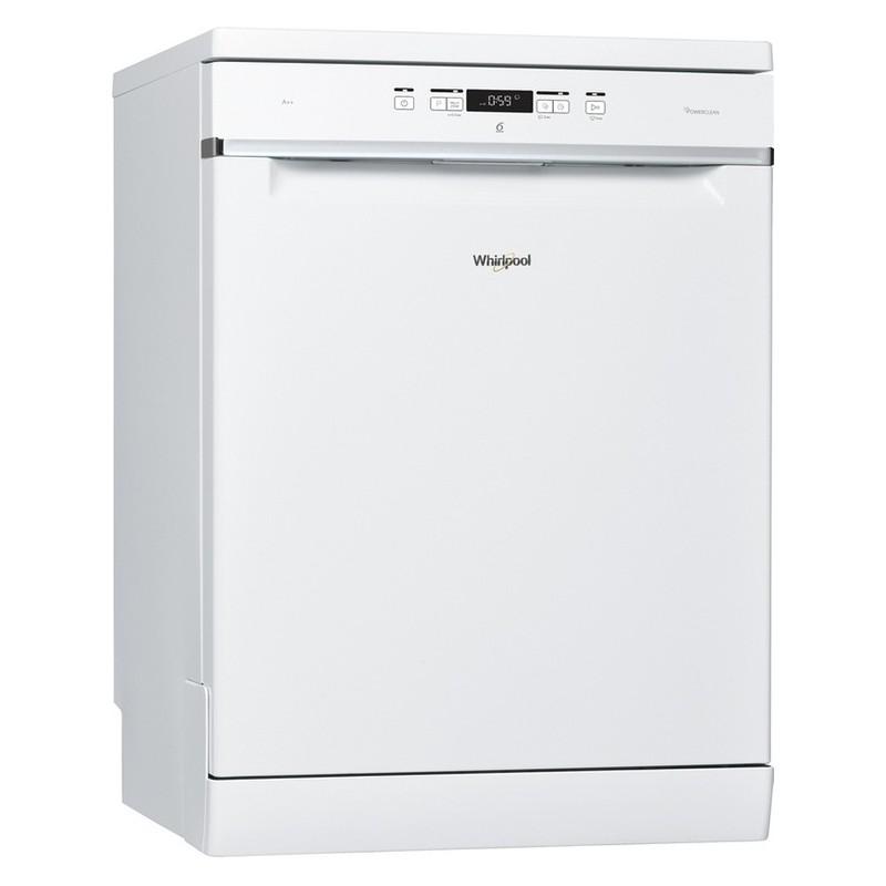 lave vaisselle whirlpool 6th sense 14 couverts blanc