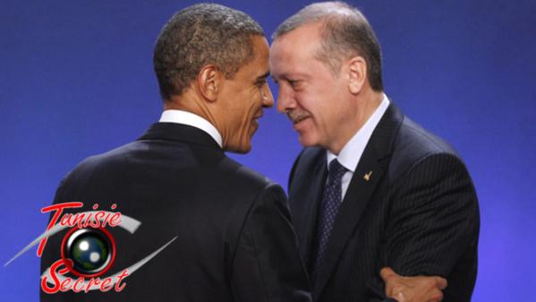 Le Frère musulman Erdogan sauvé par le Frère Barack Hussein Obama.
