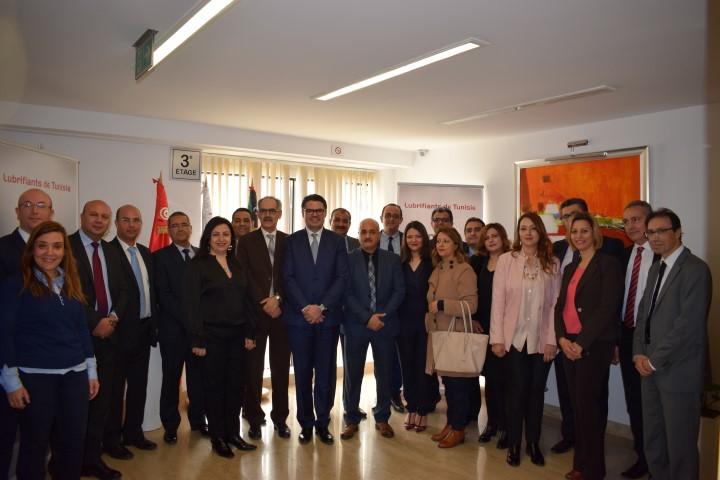 Partenariat entre la Société Lubrifiants de Tunisie et la SGS