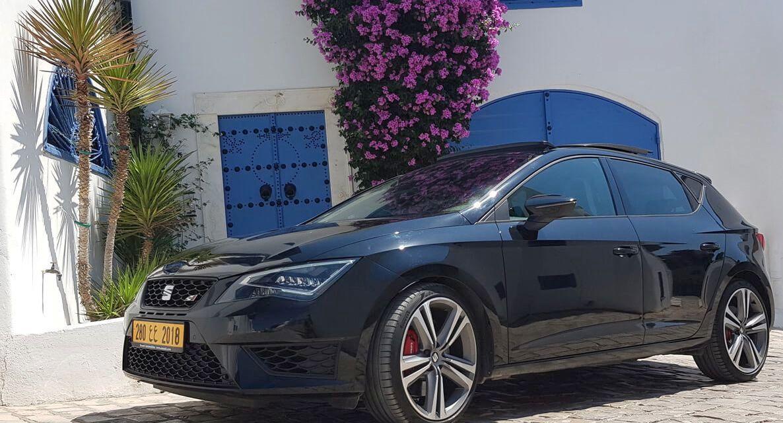 La belle Sportive Seat Leon Cupra disponible à Ennnakl
