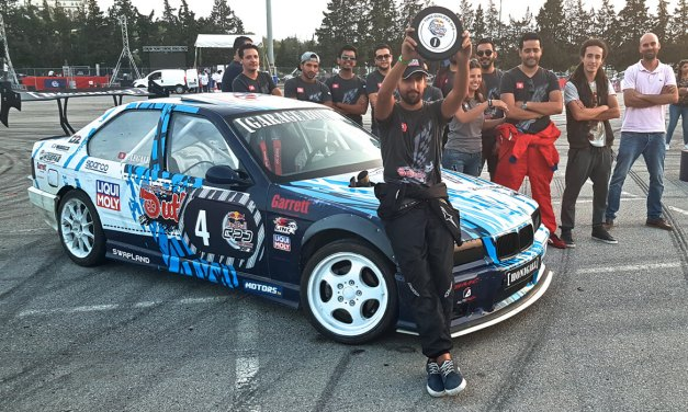 A Beyrouth, Le Grand jour pour Yassine Le Gall «King of Drift 2018»