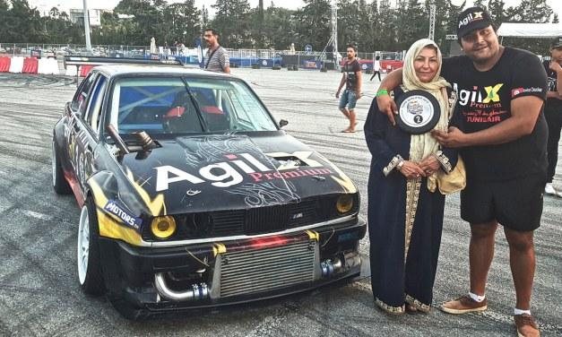 RED BULL CAR PARK DRIFT TUNISIE 2018: AMINE CHOUCHENE, DU TEAM AGIL, SUR LE PODIUM !