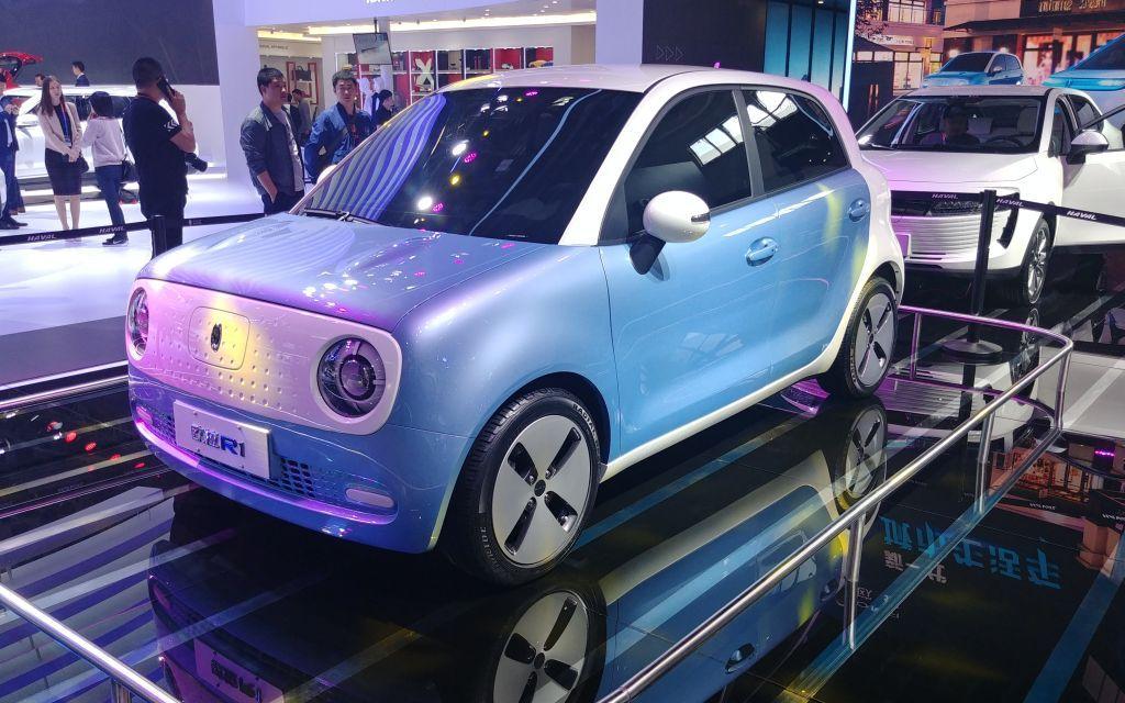 ORA R1, le nouveau véhicule électrique de Great Wall Motor