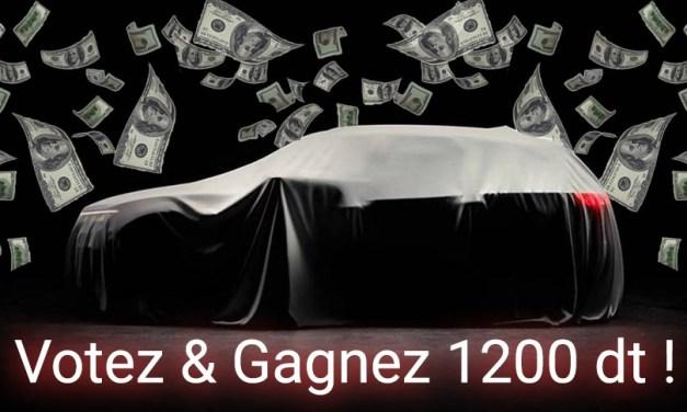 Sondage Plus belle voiture de l'année 2019