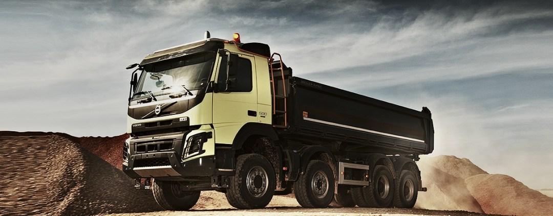 Volvo FMX, le géant de la construction