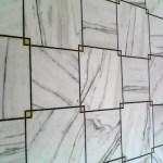 blanc effet de fil de métal