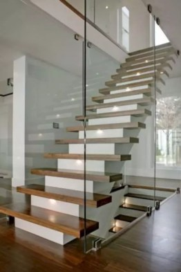 escalier direct style moderne