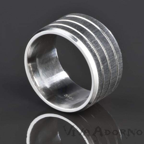 Herren Ring Daumenring Fingerring Damen Edelstahl Ring