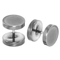 2 Fakeplugs Earrings Fake Tunnel Piercing Earplug to Screw ...