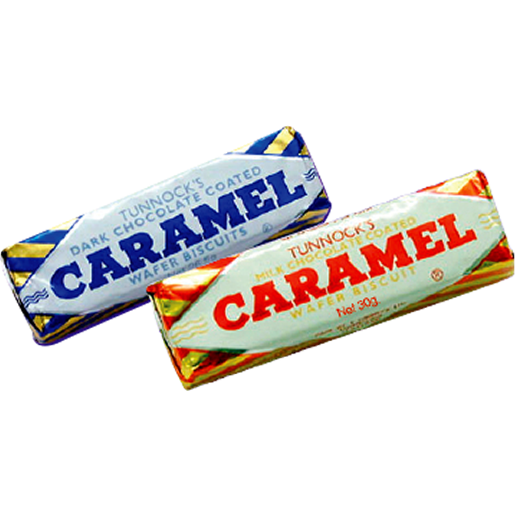 Caramel Wafer Products Tunnock S