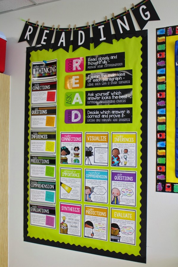 Classroom Reading Bulletin Board