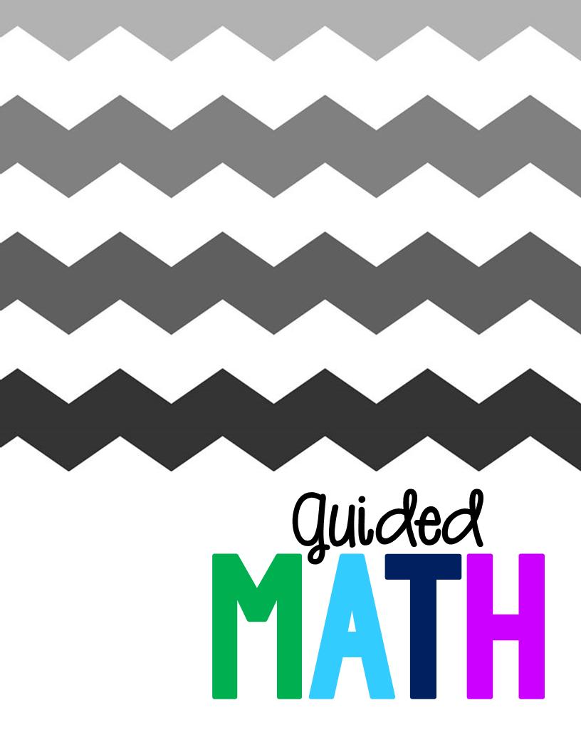 Guided Math Binder  Tunstalls Teaching Tidbits