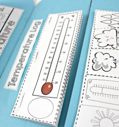 Weather Interactive Science Notebook - Tunstall's Teaching Tidbits [ 2212 x 3318 Pixel ]