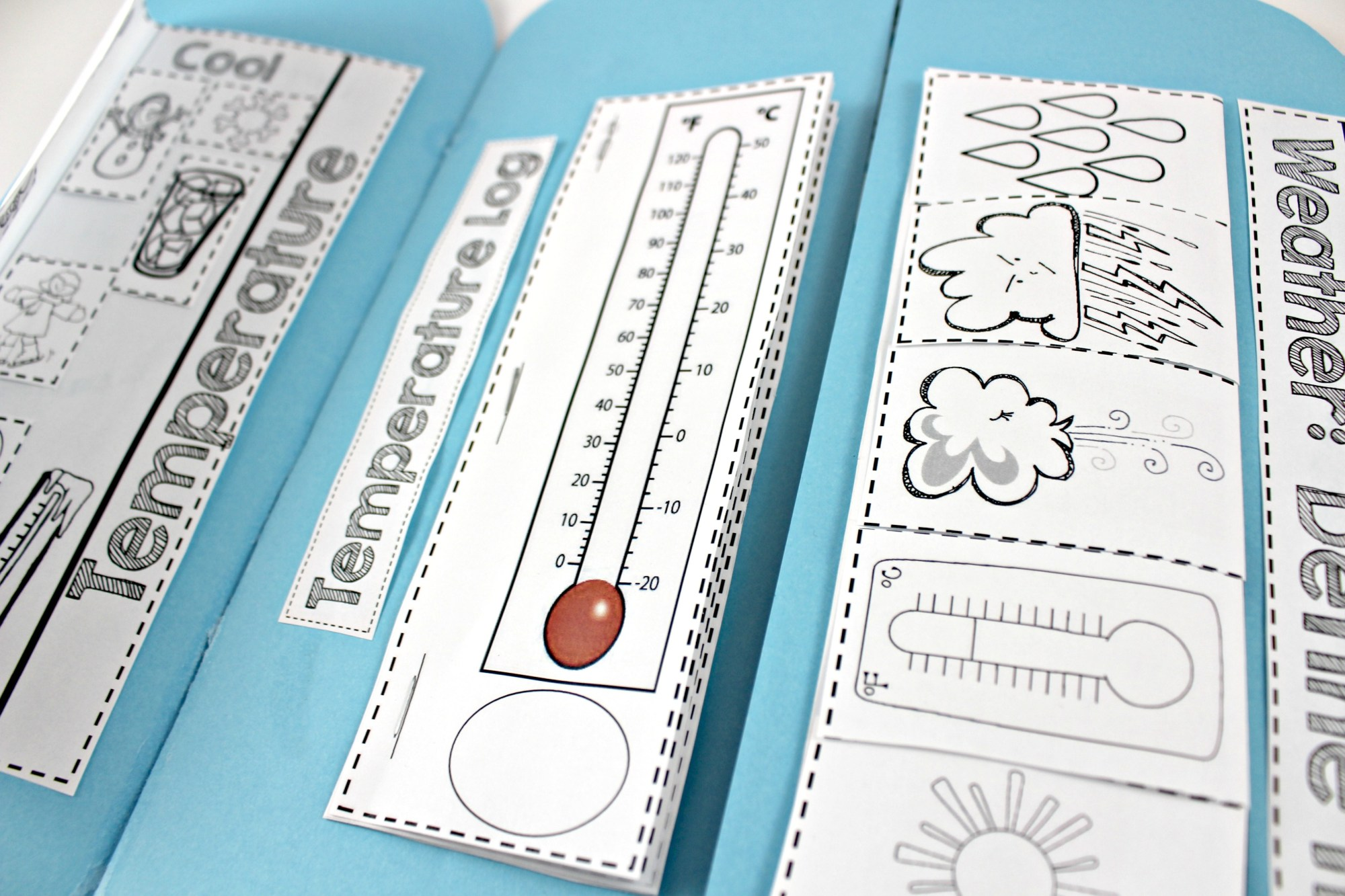 hight resolution of Weather Interactive Science Notebook - Tunstall's Teaching Tidbits