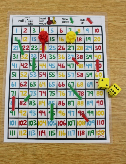 small resolution of Math Centers For First Grade - Tunstall's Teaching Tidbits