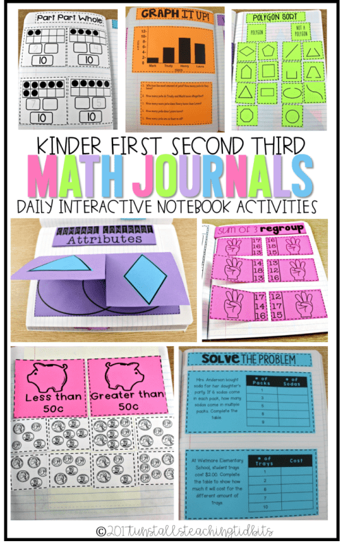 small resolution of Using Math Journals K-3 - Tunstall's Teaching Tidbits