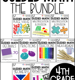 4th Grade Guided Math - Tunstall's Teaching Tidbits [ 1035 x 800 Pixel ]