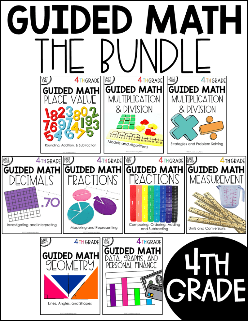 medium resolution of 4th Grade Guided Math - Tunstall's Teaching Tidbits