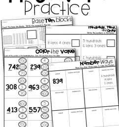 Place Value Lessons and Workstations - Tunstall's Teaching Tidbits [ 1035 x 800 Pixel ]