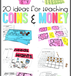 20 Ideas for Teaching Coins - Tunstall's Teaching Tidbits [ 1284 x 800 Pixel ]