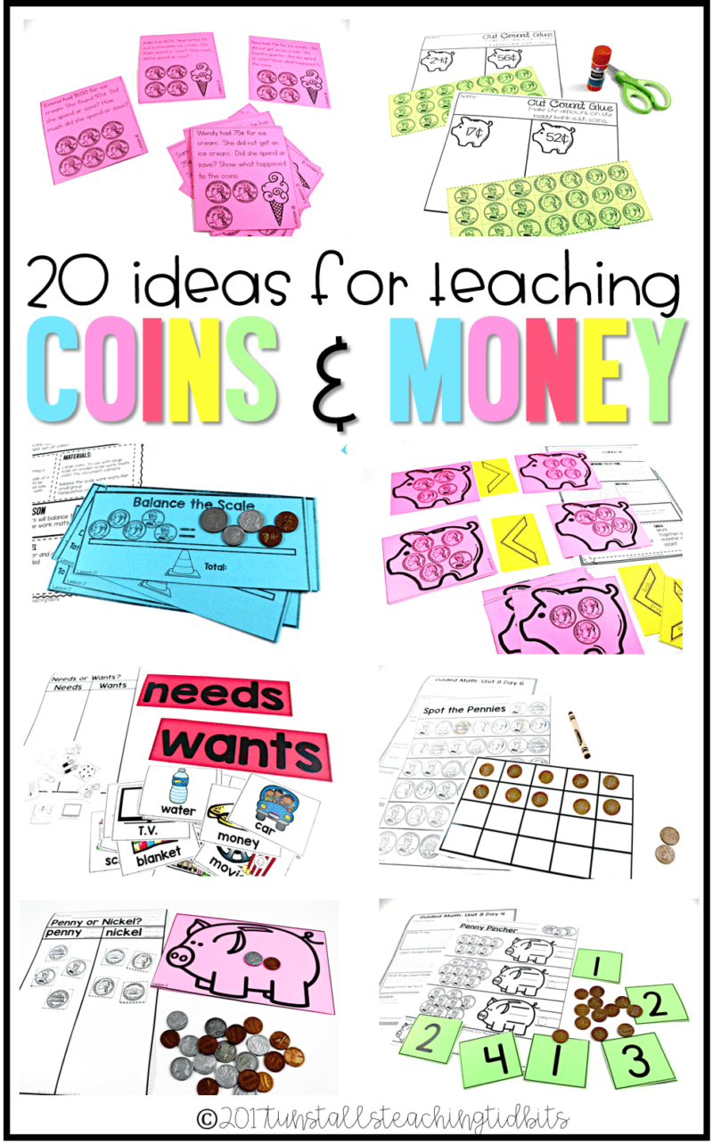 medium resolution of 20 Ideas for Teaching Coins - Tunstall's Teaching Tidbits