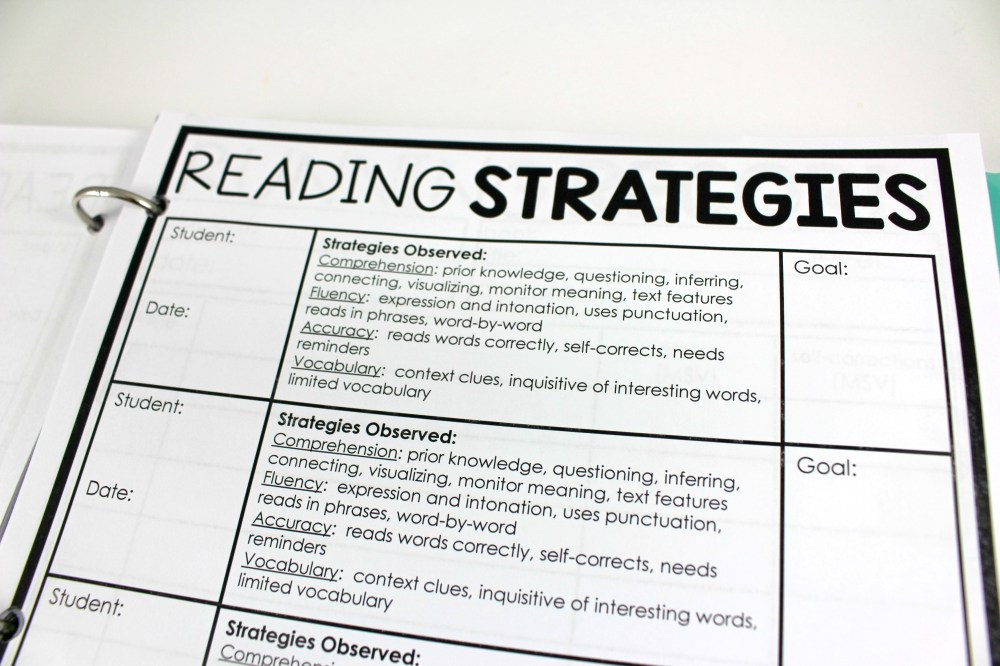medium resolution of Guided Reading Teacher Binder - Tunstall's Teaching Tidbits