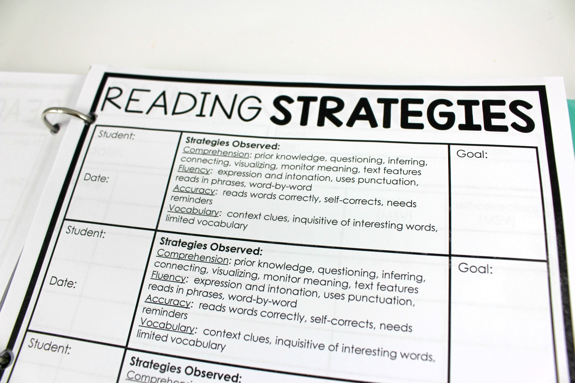 hight resolution of Guided Reading Teacher Binder - Tunstall's Teaching Tidbits