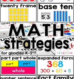 Teaching Students to Use Math Strategies - Tunstall's Teaching Tidbits [ 1200 x 800 Pixel ]