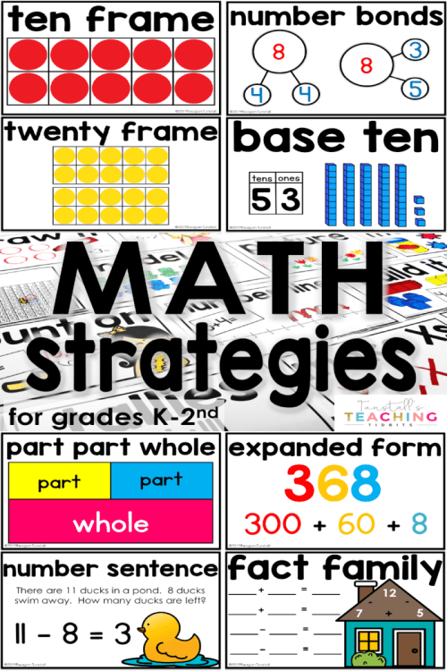 small resolution of Teaching Students to Use Math Strategies - Tunstall's Teaching Tidbits