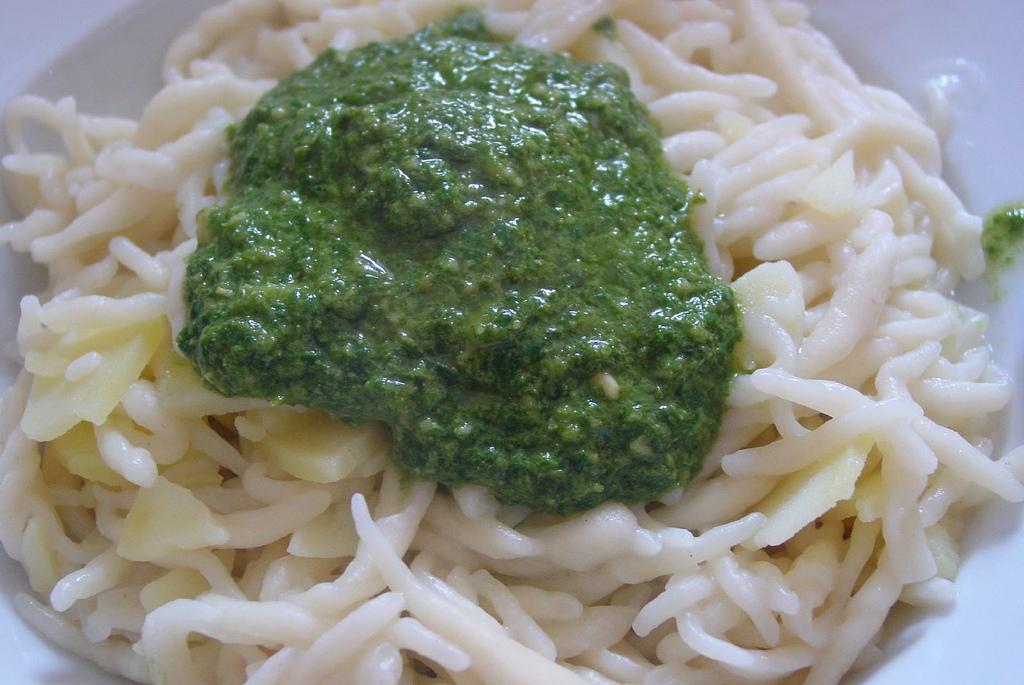 Ricette primi piatti trofie alla ligure per celiaci