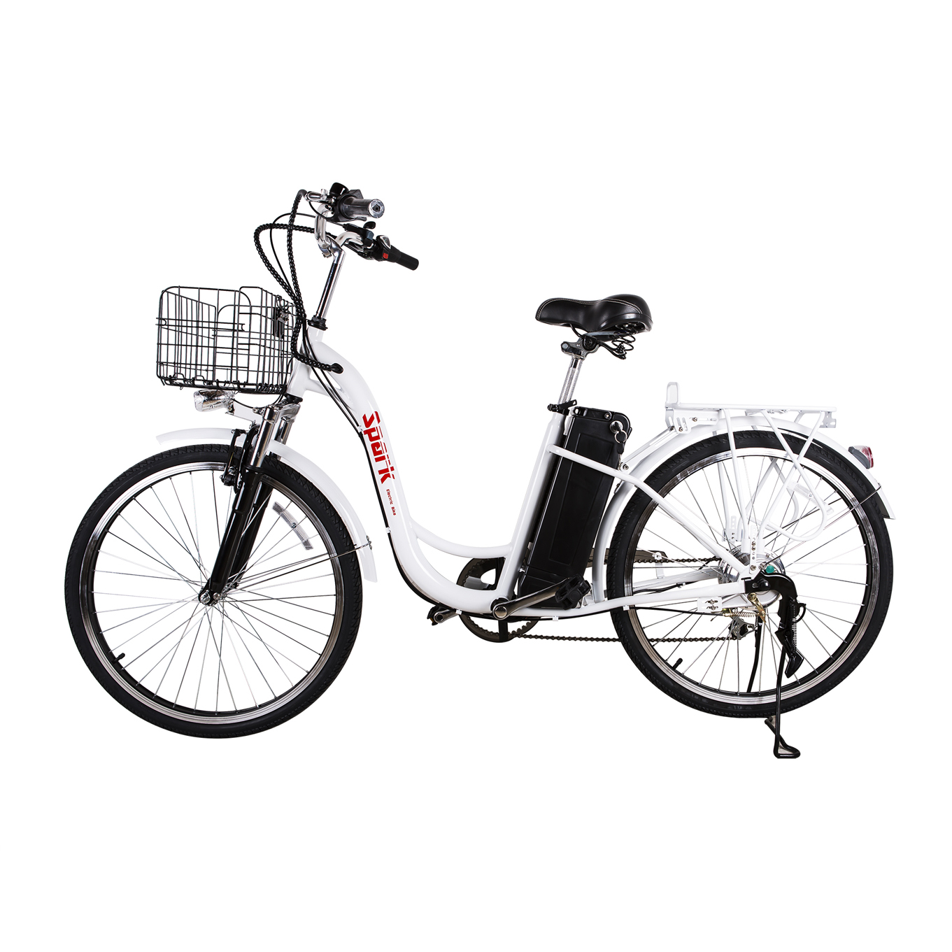 Nakto 26 250w Cargo Electric Bicycle 6 Speed E Bike 36v