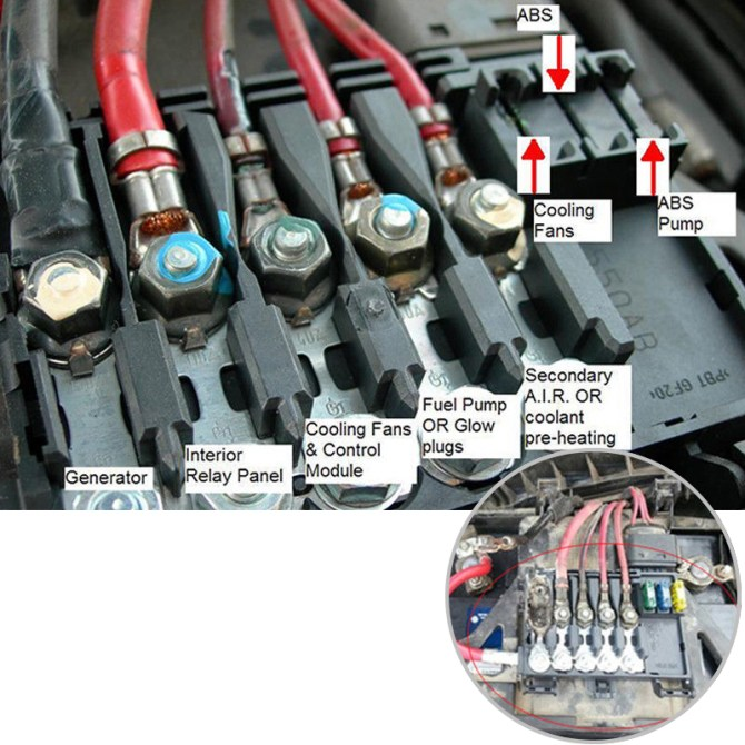 2002 jetta fuse box on battery  center wiring diagram fast